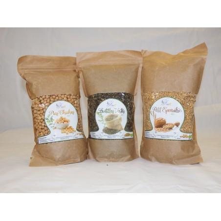 Les 3 céréales 1kg (-5%)