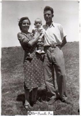 Paul et Marie-Louise Fra